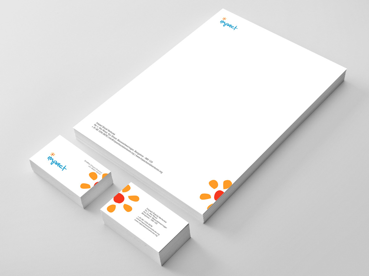 visiting card design in bangalore