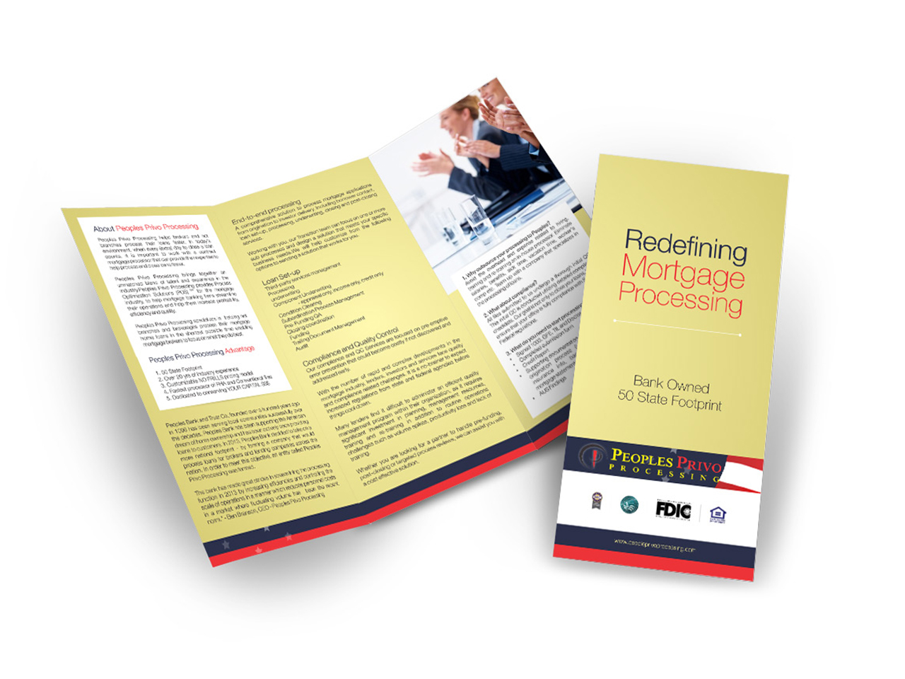 small business brochures design